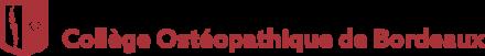 Logo de notre partenaire Collège Ostéopathique de Bordeaux